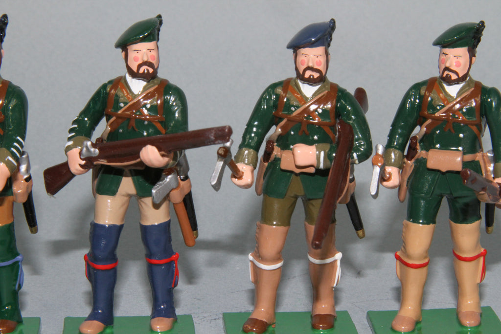 EA12 - Rogers Rangers Standing, Early American Wars from Regal Toy Soldiers
