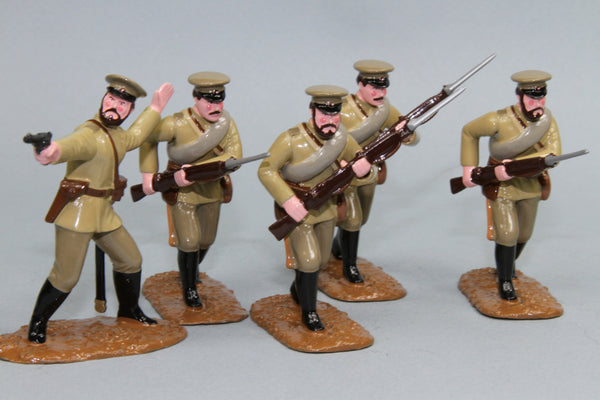 WW87C - Russian Infantry Advancing (1914-18), from Regal Toy Soldiers - Piers Christian Toy Soldiers - 1