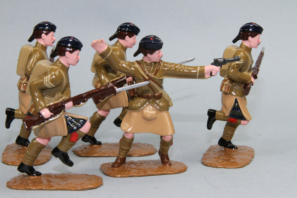 WW123 - The Black Watch Attacking (1914), from Regal Toy Soldiers - Piers Christian Toy Soldiers - 1