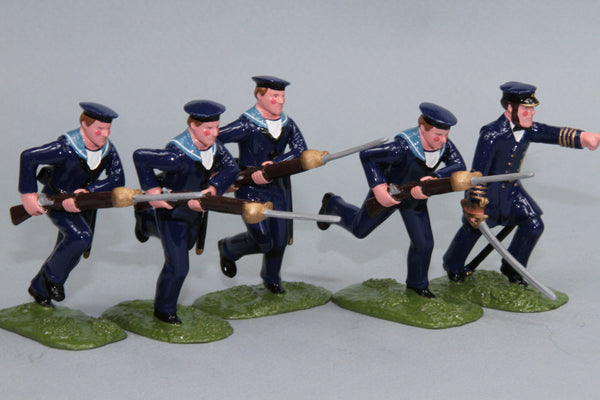 SWNZ3A - Naval Brigade, New Zealand Wars of 1845-72 by Regal Toy Soldiers - Piers Christian Toy Soldiers - 1