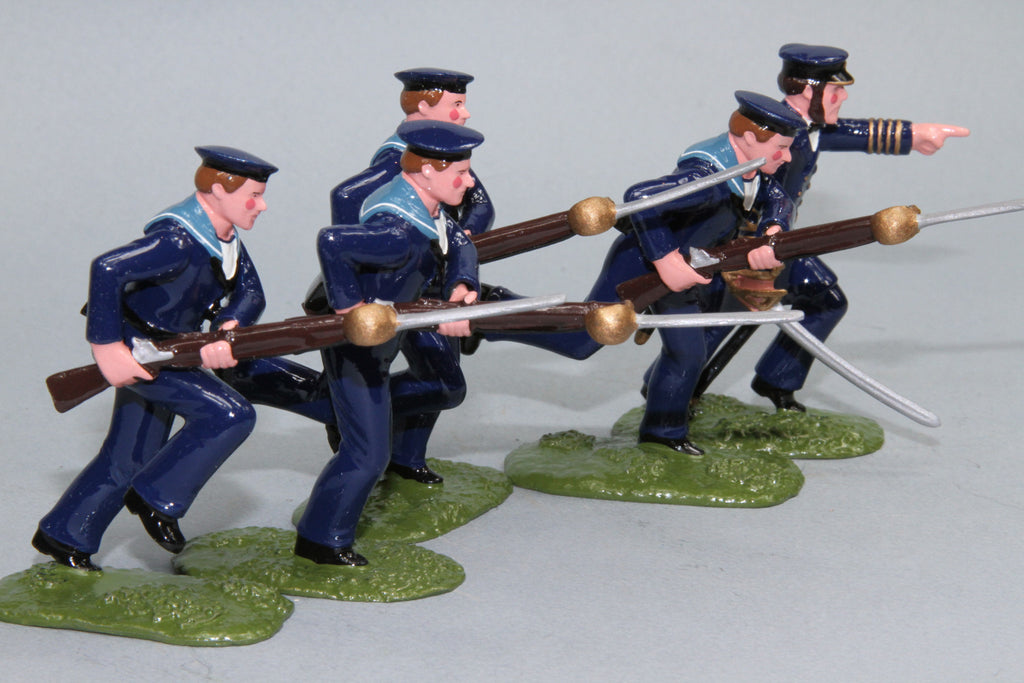 SWNZ3A - Naval Brigade, New Zealand Wars of 1845-72 by Regal Toy Soldiers - Piers Christian Toy Soldiers - 2
