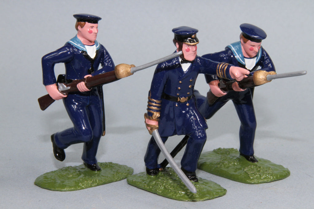 SWNZ3A - Naval Brigade, New Zealand Wars of 1845-72 by Regal Toy Soldiers - Piers Christian Toy Soldiers - 3