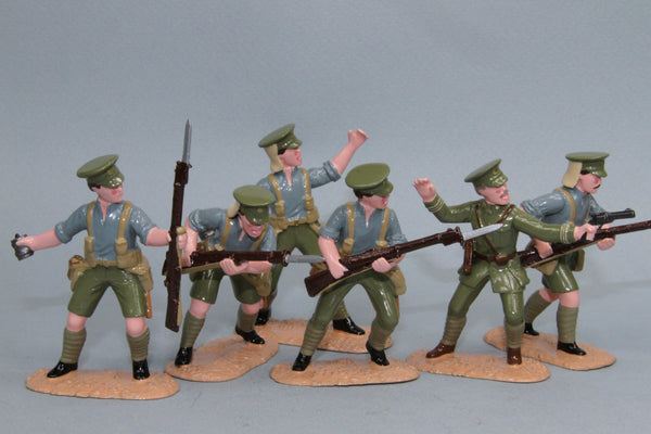 NZEF10 - NWEF, Chunk Blair, Gallipoli 1915 from Regal Toy Soldiers - Piers Christian Toy Soldiers - 1