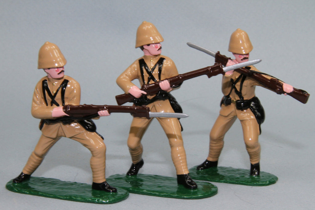 BW3 - King's Royal Rifle Corps, Boer War 1899 - 1902. Made by Regal Toy Soldiers - Piers Christian Toy Soldiers - 3
