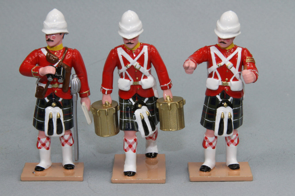 HR2A - Seaforth Highlanders with Gatling Gun from Regal Toy Soldiers. - Piers Christian Toy Soldiers - 3