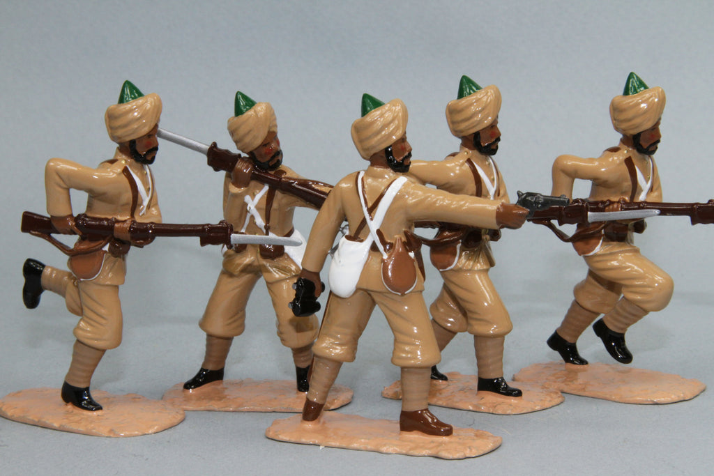 NWF9 - 20th Punjab Regiment, Bengal Infantry from Regal Toy Soldiers - Piers Christian Toy Soldiers - 1