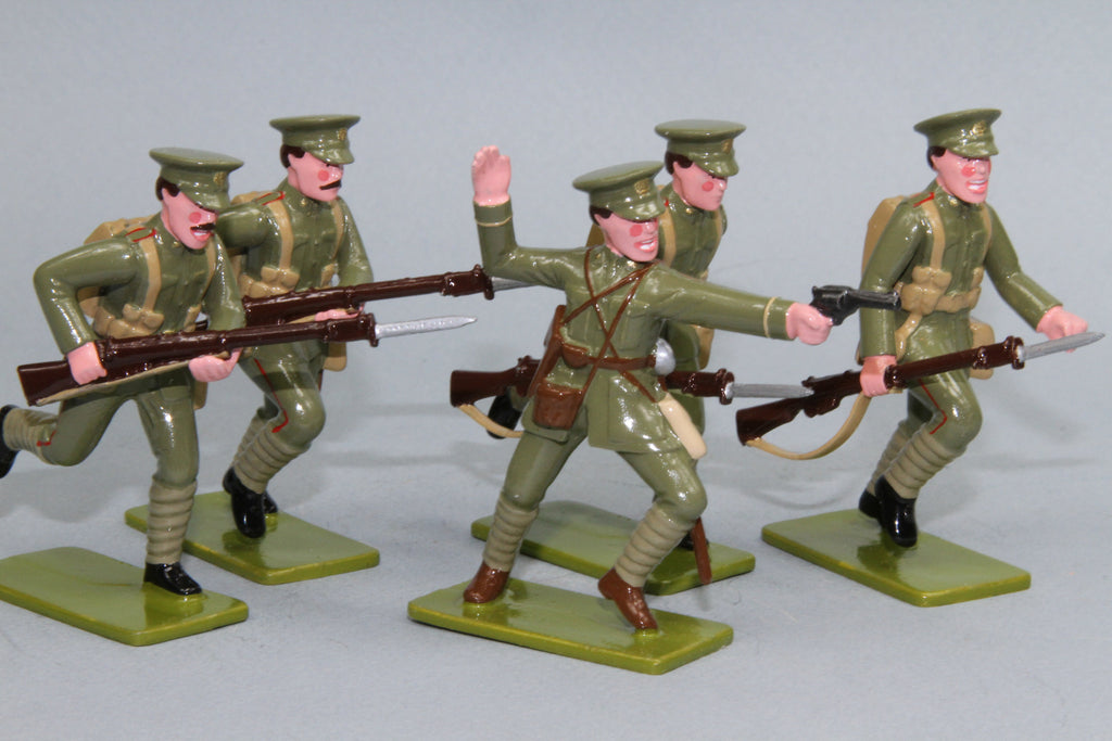 GW7 - Auckland Infantry Battalion, Gallipoli 1915. Made by Regal Toy Soldiers - Piers Christian Toy Soldiers - 1
