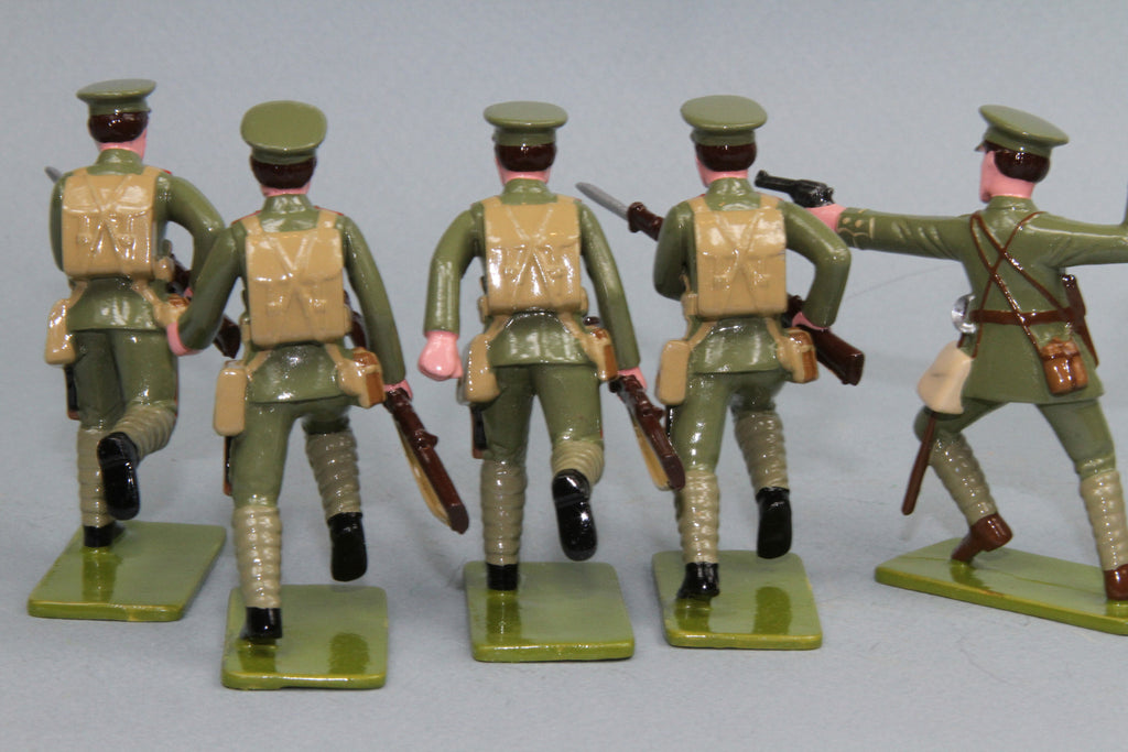 GW7 - Auckland Infantry Battalion, Gallipoli 1915. Made by Regal Toy Soldiers - Piers Christian Toy Soldiers - 2
