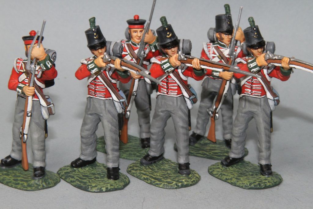 BRF1 - British 3rd Regiment of Foot (The Buffs). Frontline Napoleonic - Piers Christian Toy Soldiers - 1