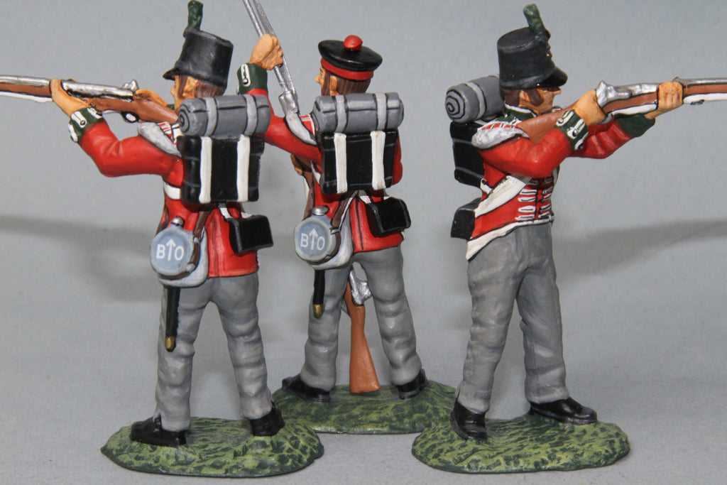 BRF1 - British 3rd Regiment of Foot (The Buffs). Frontline Napoleonic - Piers Christian Toy Soldiers - 2