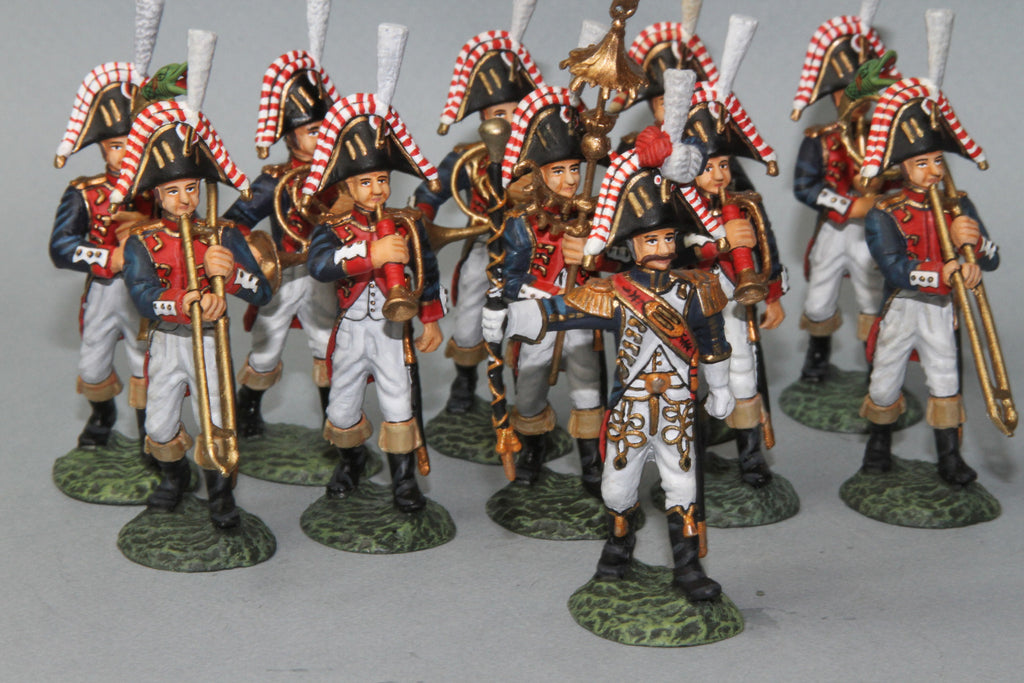FGB7 - French Imperial Band. Frontline Napoleonic - Piers Christian Toy Soldiers - 1