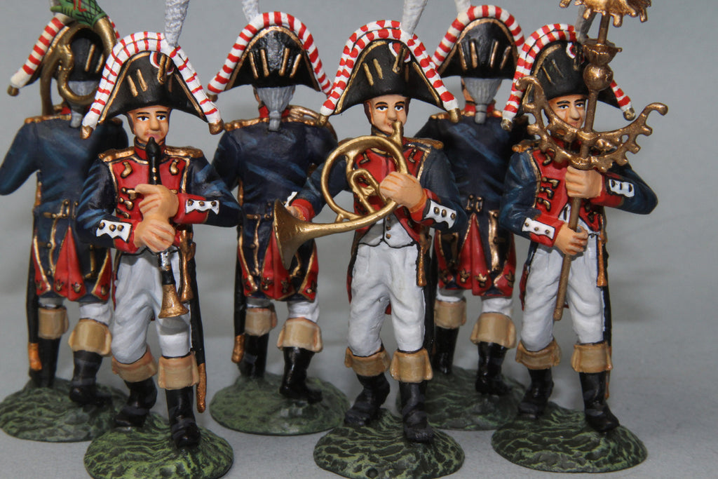 FGB7 - French Imperial Band. Frontline Napoleonic - Piers Christian Toy Soldiers - 2