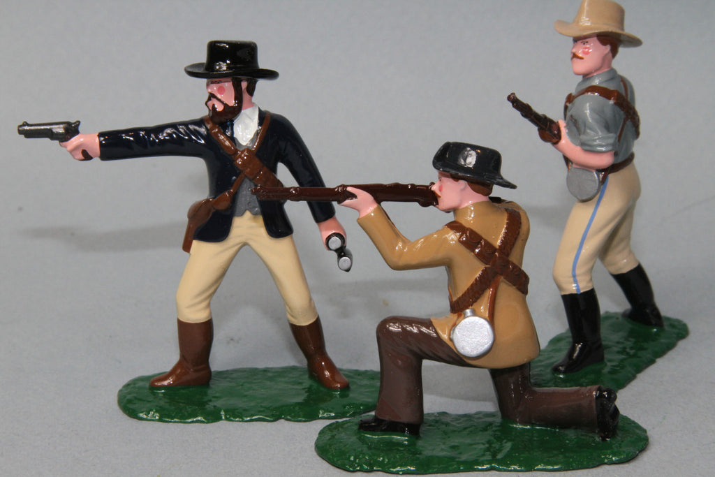 BW6 - Boer Commandoes, 1899-1902 made by Regal Toy Soldiers - Piers Christian Toy Soldiers - 2