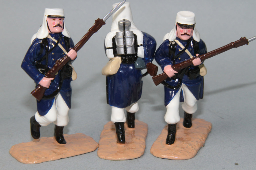 NA3 - French Foreign Legion charging, French North Africa.From Regal Toy Soldiers - Piers Christian Toy Soldiers - 2