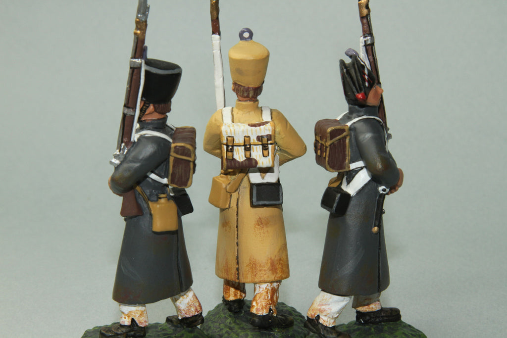 FLI14 - 54th French Line Infantry Marching, Frontline Napoleonic - Piers Christian Toy Soldiers - 2