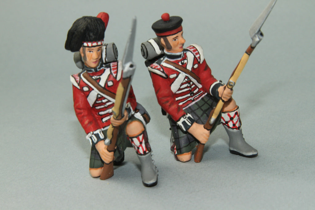 NBW4 - Royal Highlanders at repel. Frontline Napoleonic - Piers Christian Toy Soldiers
