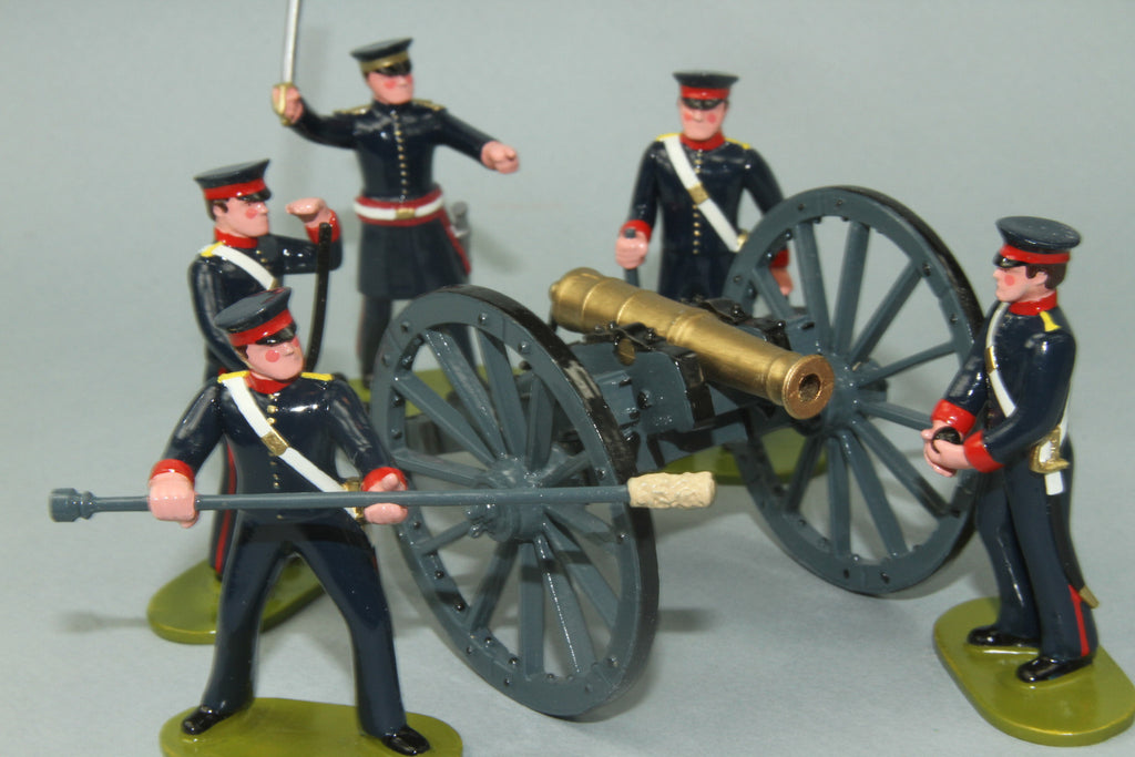NZ9 - Bengal Foot Artillery 1845 from Regal - Piers Christian Toy Soldiers - 1