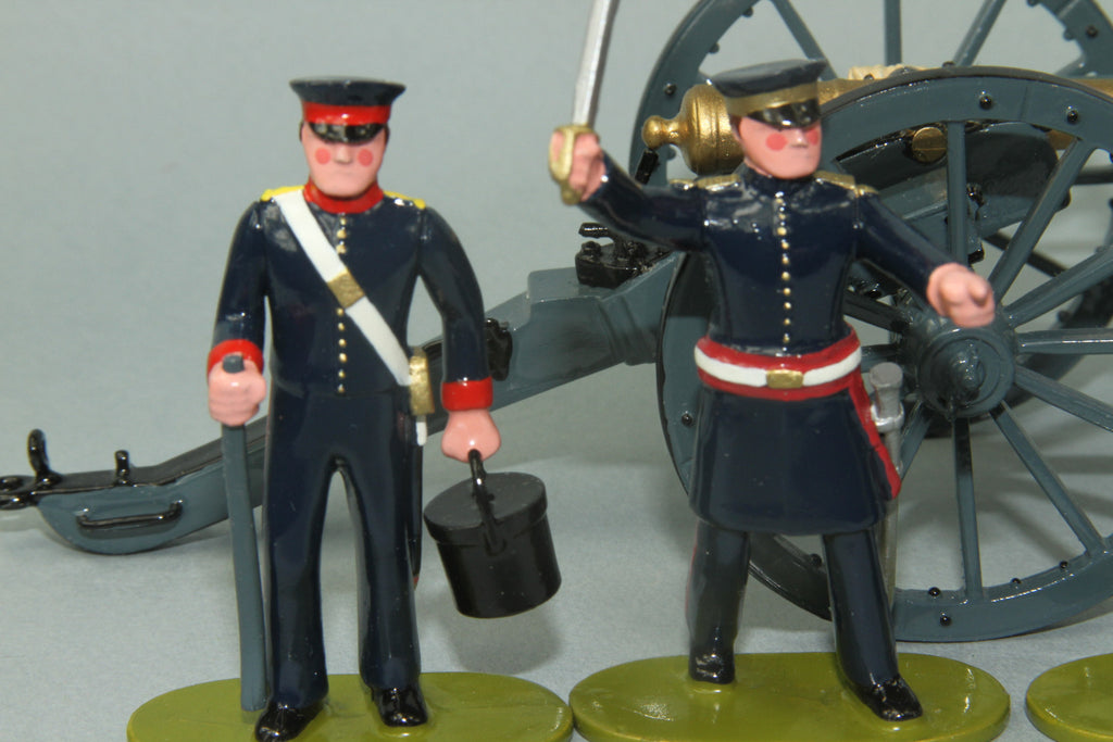 NZ9 - Bengal Foot Artillery 1845 from Regal - Piers Christian Toy Soldiers - 2