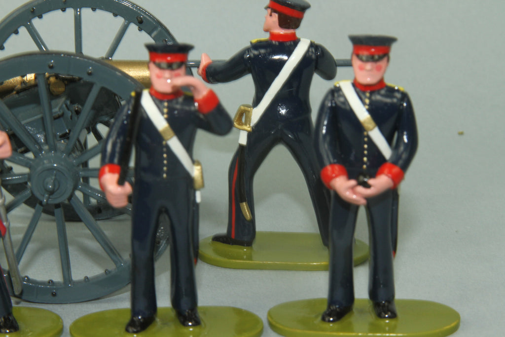 NZ9 - Bengal Foot Artillery 1845 from Regal - Piers Christian Toy Soldiers - 3