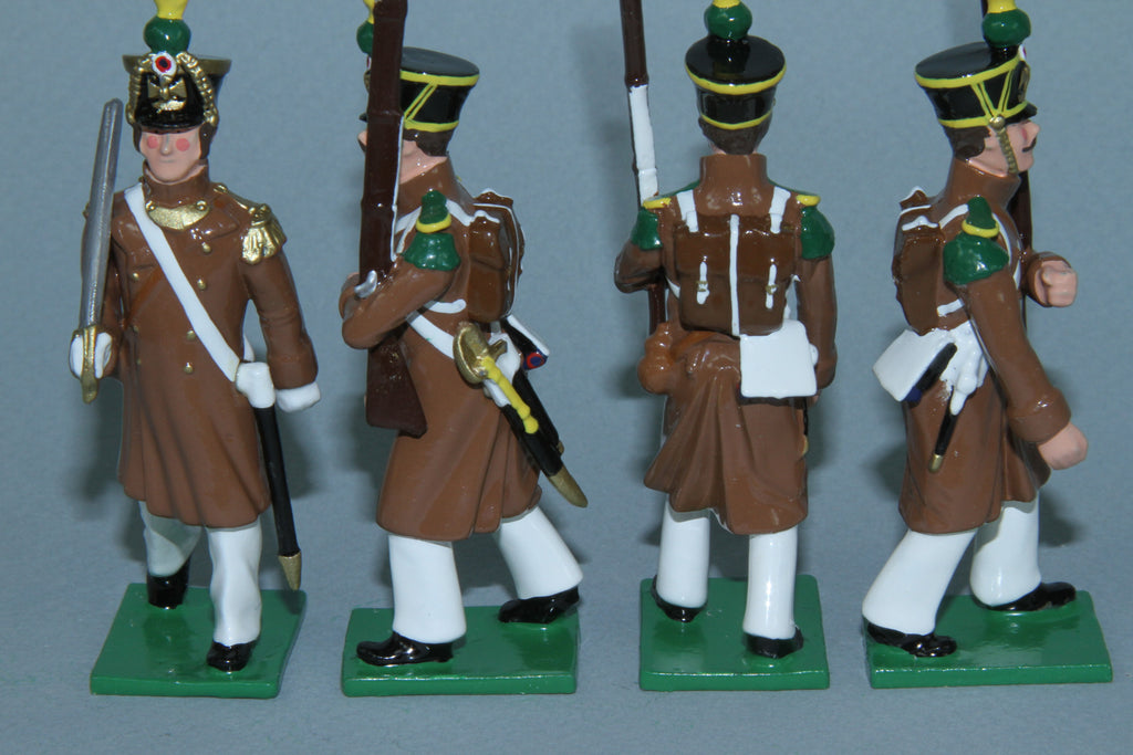 N256 French Line Infantry Voltigeurs of 1812-15 from Regal Tot Soldiers