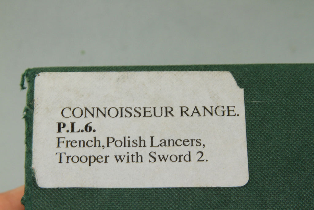 PL6 - Mounted French Polish Lancer NCO with sword from Frontline Napoleonic