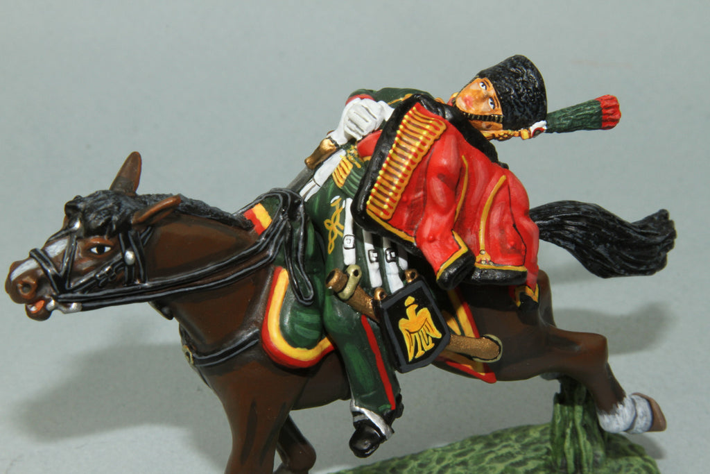 CDC.11 - French Chasseurs A Chevel Wounded Trooper from Frontline Napoleonic - Piers Christian Toy Soldiers