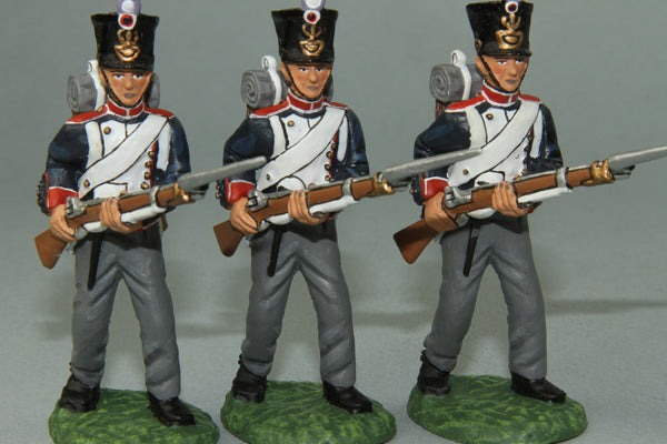 FLI11 - Napoleonic French 54th Line Regiment Advancing, Frontline Napoleonic - Piers Christian Toy Soldiers - 1