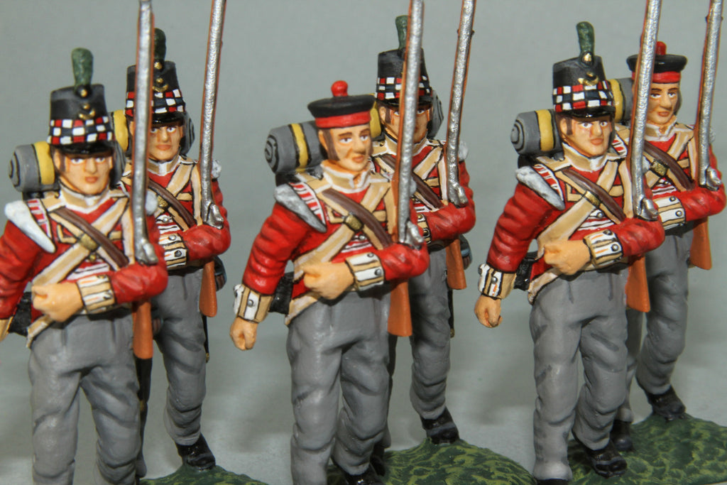 GLI9 - Highland Light Infantry Marching, Frontline Napoleonic range - Piers Christian Toy Soldiers - 1