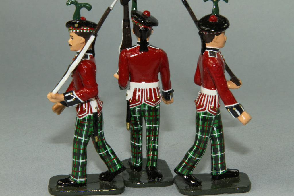 PD9 - King's Own Scottish Borderers Marching in dress uniform. Frontline WWI and more - Piers Christian Toy Soldiers - 2
