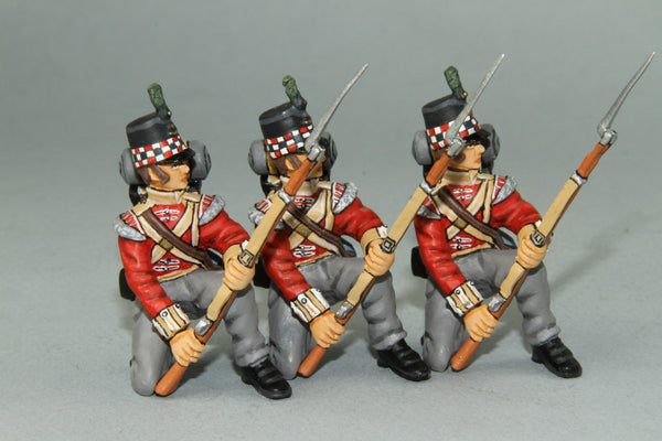 GLI4 - British Highland Light Infantry Kneeling at Repel, Frontline Napoleonic - Piers Christian Toy Soldiers - 1