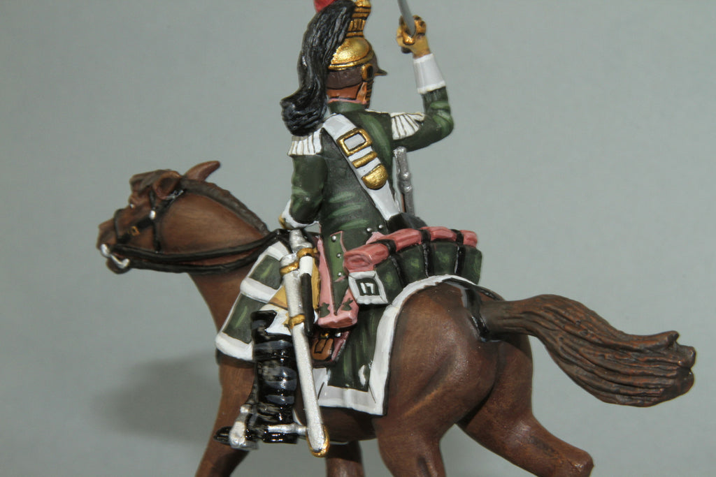 F17C3 - French 17th Dragoons Trooper from Frontline Napoleonic - Piers Christian Toy Soldiers - 2