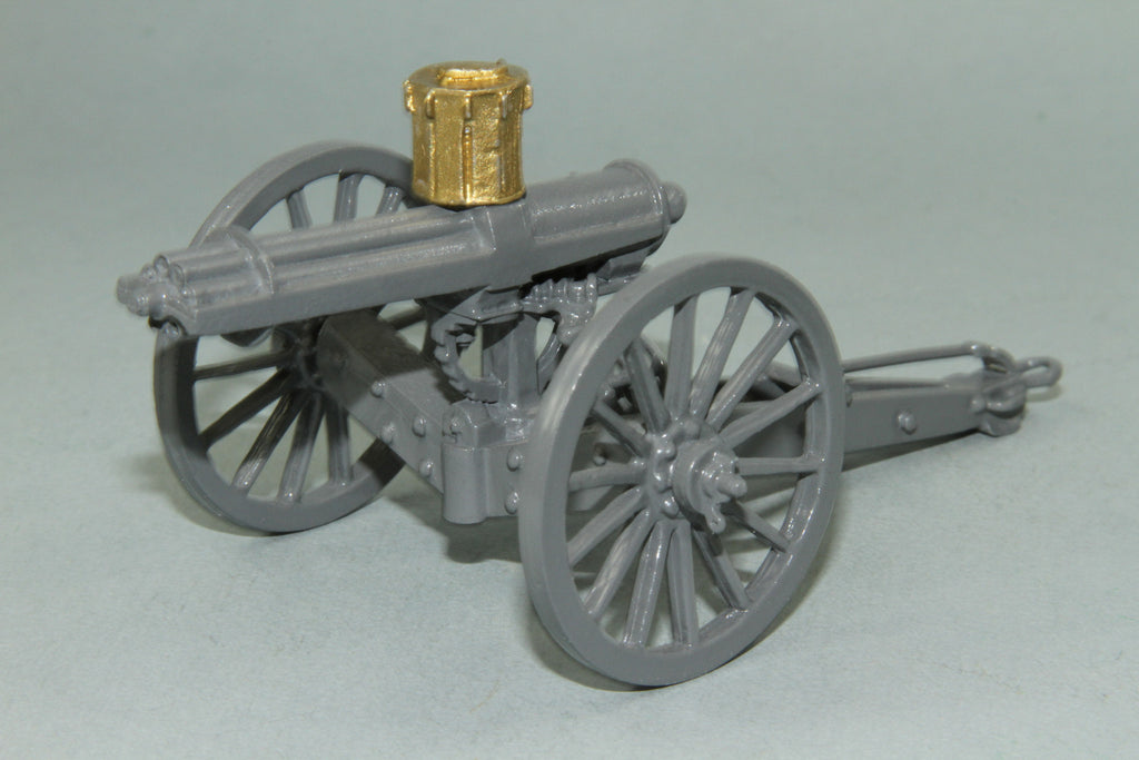 ZW24 Royal Navy Gatling Gun and Crew, Zulu War of 1879 by Regal Toy Soldiers - Piers Christian Toy Soldiers - 3