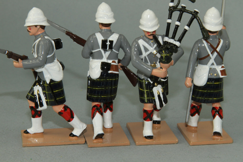 HR11E - Gordon Highlanders Advancing. From Regal Toy Soldiers - Piers Christian Toy Soldiers - 2