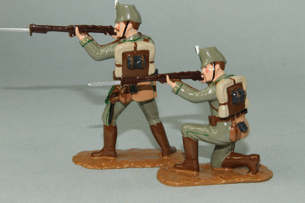WW120 - German Jaegers, Western Front 1914. Made by Regal Toy Soldiers - Piers Christian Toy Soldiers - 2