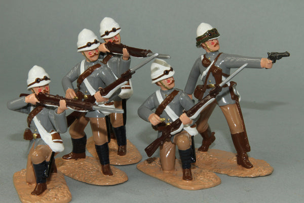 SC33 - British Camel Corps, dismounted - Sudan Campaign, made by Regal Toy Soldiers - Piers Christian Toy Soldiers - 1