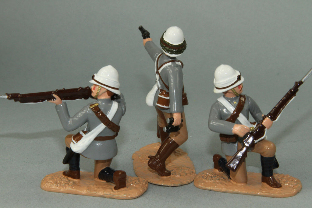 SC33 - British Camel Corps, dismounted - Sudan Campaign, made by Regal Toy Soldiers - Piers Christian Toy Soldiers - 2