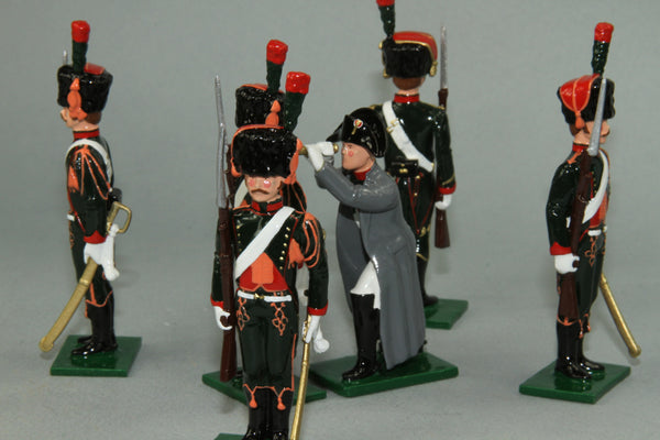 "N326 - ""The Imperial Eye' Napoleon and Chasseur a Cheval by Regal Toy Soldiers - Piers Christian Toy Soldiers - 1"
