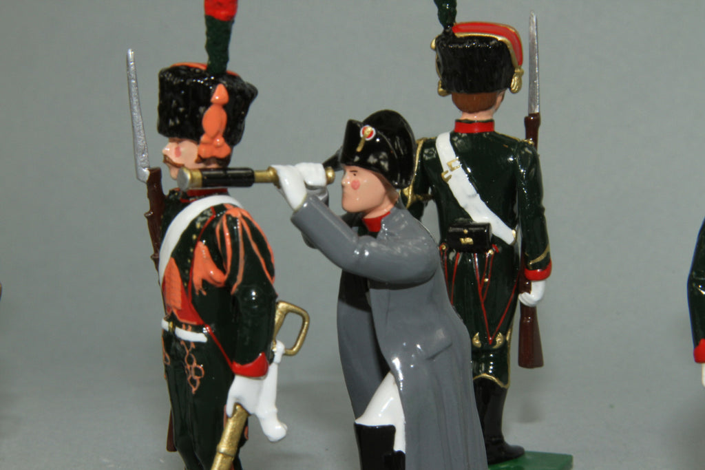 "N326 - ""The Imperial Eye' Napoleon and Chasseur a Cheval by Regal Toy Soldiers - Piers Christian Toy Soldiers - 2"