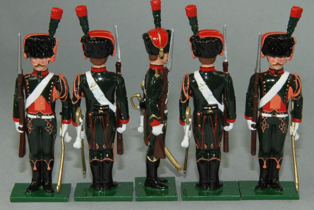 "N326 - ""The Imperial Eye' Napoleon and Chasseur a Cheval by Regal Toy Soldiers - Piers Christian Toy Soldiers - 3"