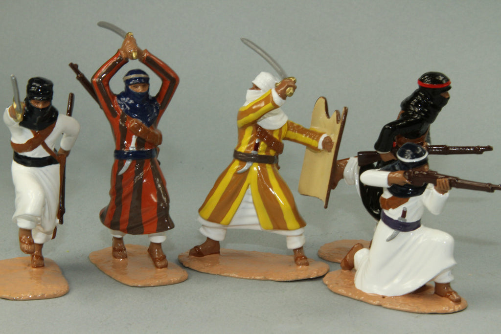 NA6 - Arab Warriors French North Africa. Made by Regal Toy Soldiers - Piers Christian Toy Soldiers - 1