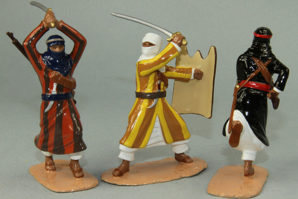 NA6 - Arab Warriors French North Africa. Made by Regal Toy Soldiers - Piers Christian Toy Soldiers - 2