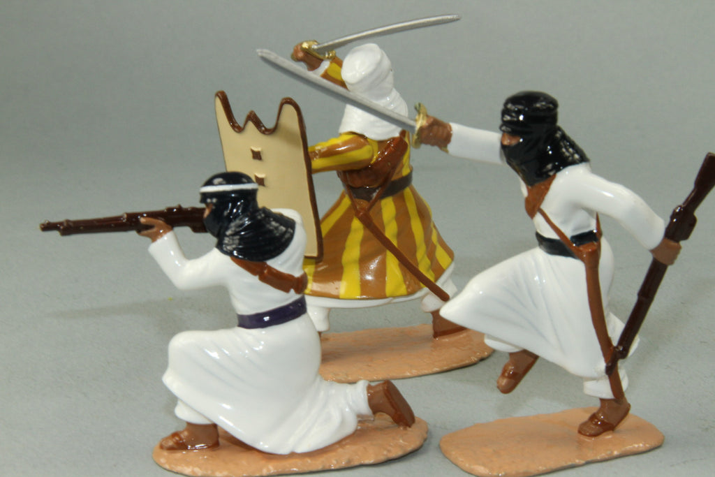 NA6 - Arab Warriors French North Africa. Made by Regal Toy Soldiers - Piers Christian Toy Soldiers - 3