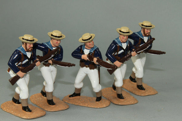 SC55 - Royal Navy Landing Party, Sudan Campaign 1884-85. Made by Regal Toy Soldiers - Piers Christian Toy Soldiers - 1