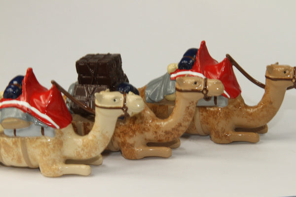SC37 - British Camel Corps, Kneeling Camels - Sudan Campaign 1884-85, made by Regal Toy Soldiers - Piers Christian Toy Soldiers - 1