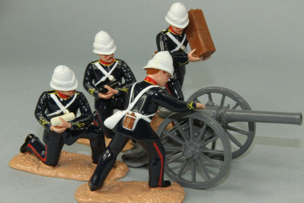 SC60 7/1 Mountain Battery, Royal Artillery, Sudan Campaign 1884-85. Made by Regal Toy Soldiers - Piers Christian Toy Soldiers - 1