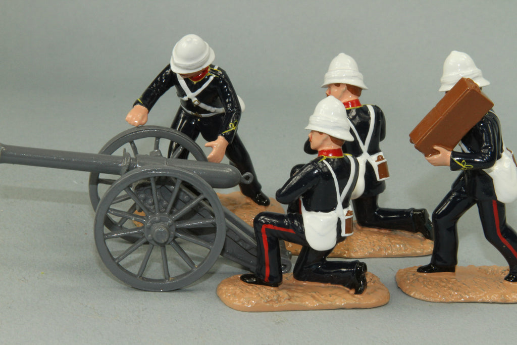 SC60 7/1 Mountain Battery, Royal Artillery, Sudan Campaign 1884-85. Made by Regal Toy Soldiers - Piers Christian Toy Soldiers - 2