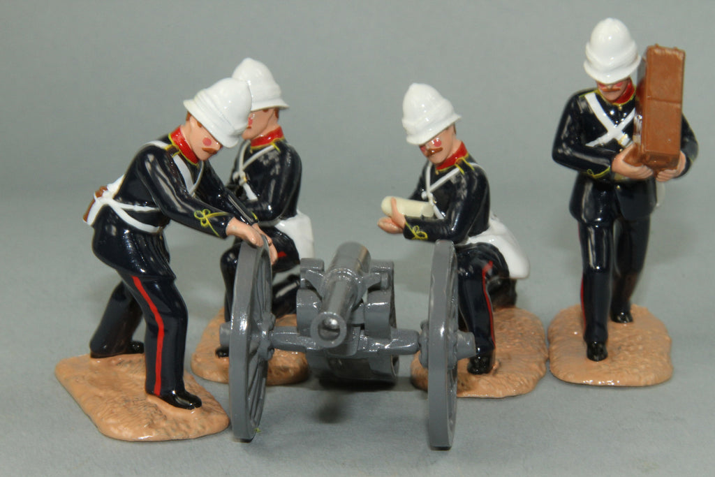 SC60 7/1 Mountain Battery, Royal Artillery, Sudan Campaign 1884-85. Made by Regal Toy Soldiers - Piers Christian Toy Soldiers - 3