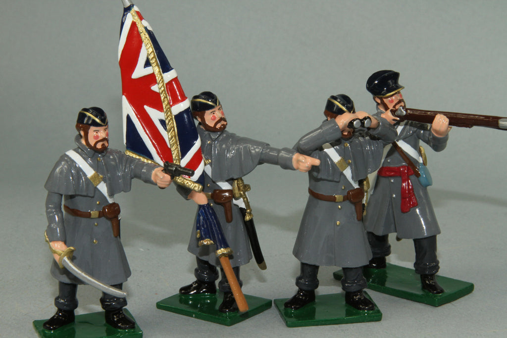 CW47A - Crimea War Coldstream Guards Command Set from Regal Toy Soldiers - Piers Christian Toy Soldiers