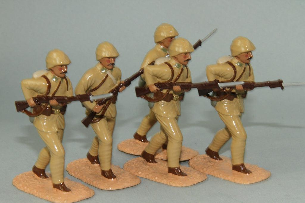 WW74A - Turkish Soldiers advancing - Gallipoli 1915 - From Regal Toy Soldiers - Piers Christian Toy Soldiers