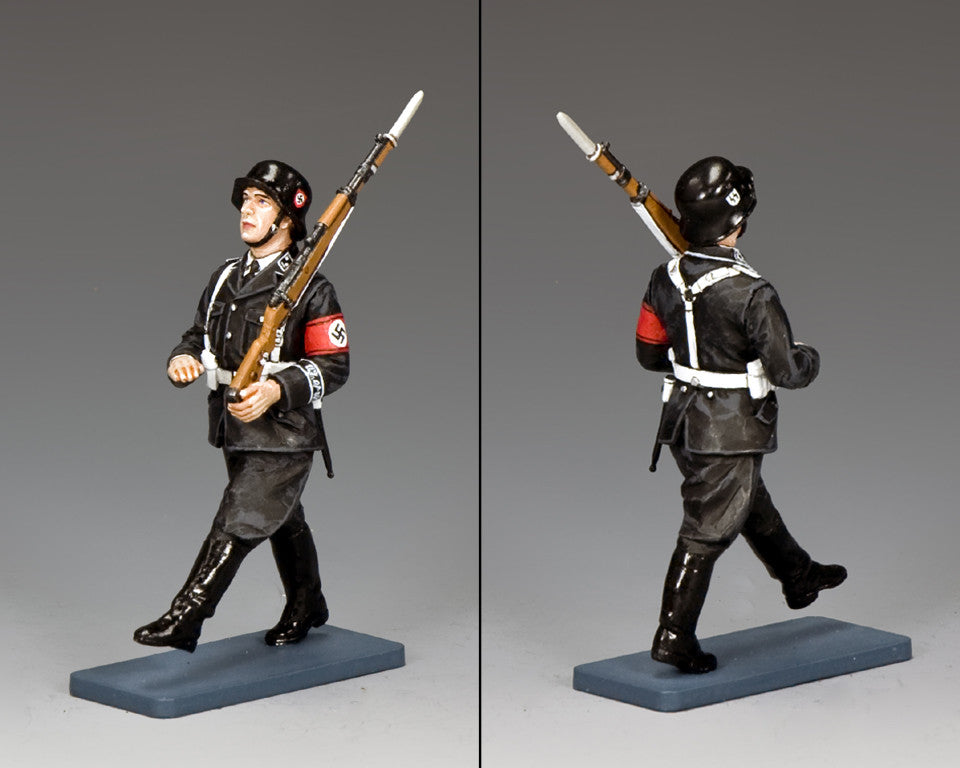 LAH205 - SS man on Parade… Goosestepping. Berlin '38 by King & Country - Piers Christian Toy Soldiers - 2